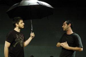 Hugo Rodas e Antônio Abujamra