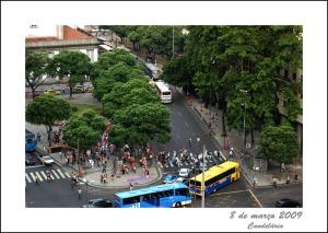 Concentração para o ato das mulheres cariocas para o 8 de março