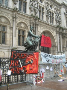 Manifestação parisiense por educação para tod@s