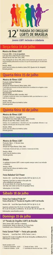 12ª PARADA LGBT DE BRASÍLIA 12/7/09